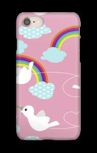 Kyyhkyt kuoret IPhone 8