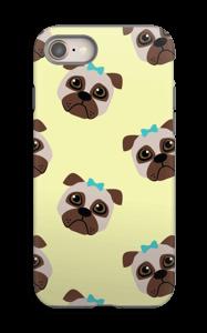 Sad pugs case IPhone 8 tough
