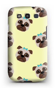Sad pugs case Galaxy S3