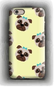 Sad pugs case IPhone 6 tough