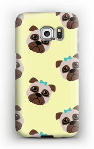 Sad pugs case Galaxy S6 Edge