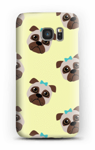 Sad pugs case Galaxy S7