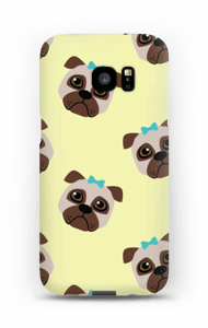 Sad pugs case Galaxy S7 Edge