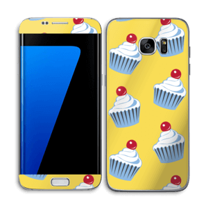 Sweet cupcakes Skin Galaxy S7 Edge