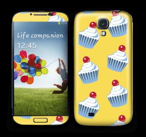 Cute small cupcakes Skin Galaxy S4