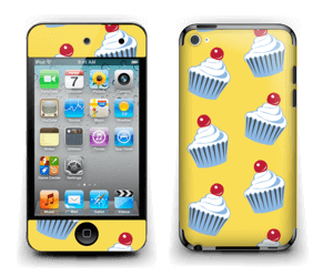 Cute small cupcakes Skin IPod Touch 4th Gen