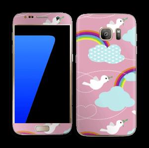 Oiseaux Arc-en-ciel Skin Galaxy S7