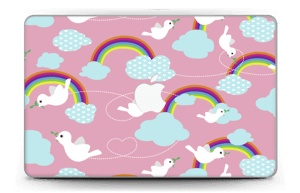 Peace & birds Skin MacBook Air 11""