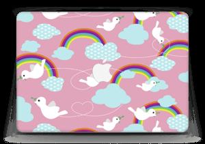 "Peace & birds Skin MacBook Air 13"""