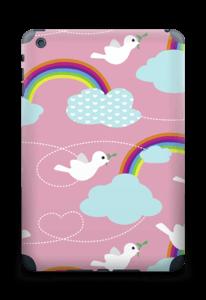 Peace, birds & rainbows Skin IPad mini 2 back