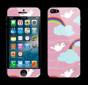 Peace & birds Skin IPhone 5