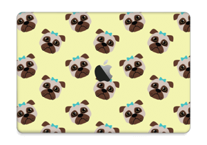 "Unhappy pug Skin MacBook Pro 13"" 2016-"