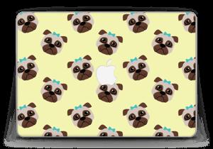 "Petits Pugs Skin MacBook Pro Retina 13"" 2015"