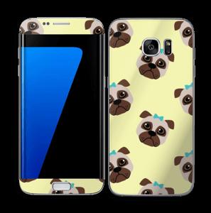 Bulldogs vinilo  Galaxy S7 Edge
