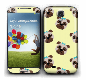 Unhappy pug Skin Galaxy S4