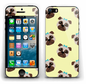 Unhappy pugs Skin IPhone 5s