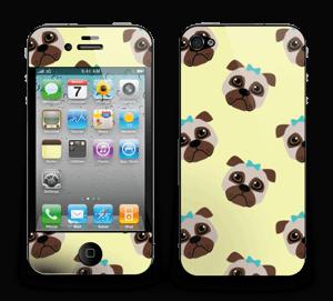 Unhappy pugs Skin IPhone 4/4s