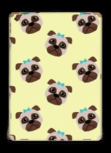 Unhappy pugs Skin IPad Pro 12.9