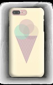 Jäätelö keltainen kuoret IPhone 7 Plus