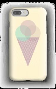 Jäätelö keltainen kuoret IPhone 7 Plus tough
