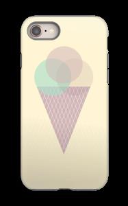 Sunny Yellow Ice Cream case IPhone 8 tough