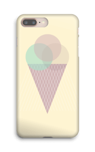Boules de glace Jaune Coque  IPhone 8 Plus