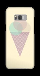 Sunny Yellow Ice Cream case Galaxy S8 Plus