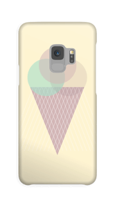 Gelbes Eis Handyhülle Galaxy S9