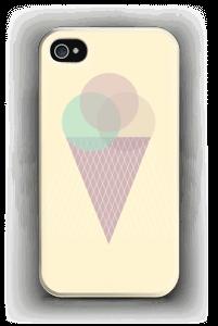 Iskrem gul deksel IPhone 4/4s