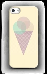 Jäätelö keltainen kuoret IPhone 5/5S