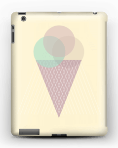 Sunny Yellow Ice Cream case IPad 4/3/2