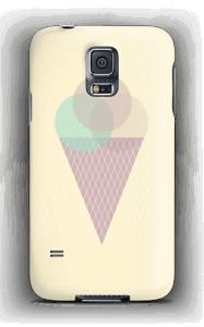 Sunny Yellow Ice Cream case Galaxy S5