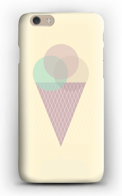 Sunny Yellow Ice Cream case IPhone 6
