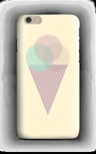 Jäätelö keltainen kuoret IPhone 6 Plus