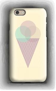 Jäätelö keltainen kuoret IPhone 6s tough