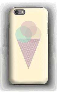Jäätelö keltainen kuoret IPhone 6s Plus tough