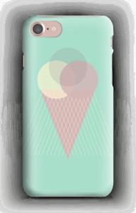 Iskrem mintgrønn deksel IPhone 7