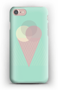 Glass mintgrön skal IPhone 7