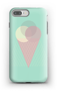 Iskrem mintgrønn deksel IPhone 7 Plus tough