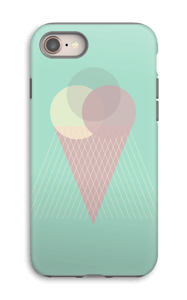 Mint Green Ice Cream case IPhone 8 tough