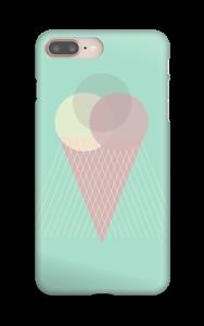 Boules de glaces menthe Coque  IPhone 8 Plus