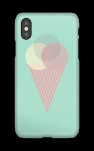 Jäätelö minttu kuoret IPhone X