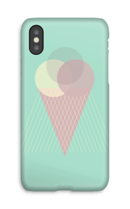 Iskrem mintgrønn deksel IPhone X
