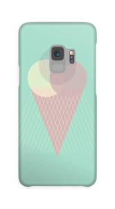 Mint green ice cream case Galaxy S9