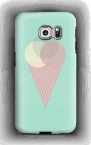 Iskrem mintgrønn deksel Galaxy S6 Edge