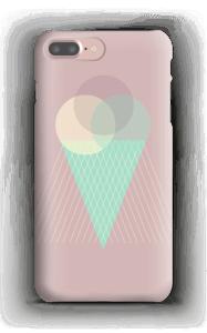Jäätelö vanharoosa kuoret IPhone 7 Plus