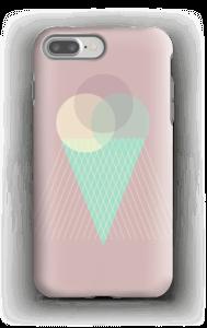 Jäätelö vanharoosa kuoret IPhone 7 Plus tough