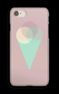 Iskrem gammelrosa deksel IPhone 8