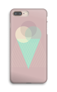 Boules de glace rose Coque  IPhone 8 Plus