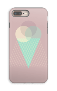 Iskrem gammelrosa deksel IPhone 8 Plus tough